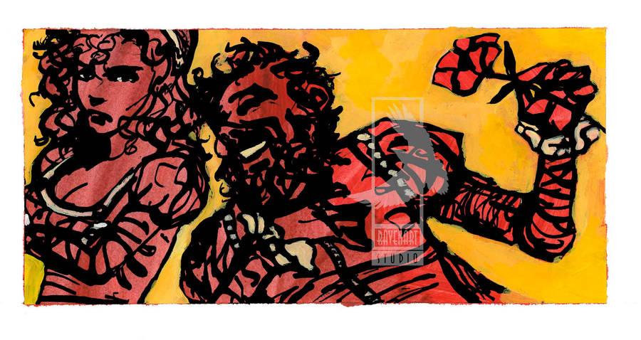 Cover art for Shakespeare's Taming of the Shrew by RavenartStudio