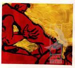 Red Lovers (Gold) by Ravenart by RavenartStudio