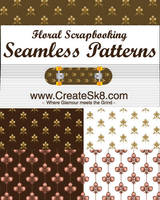 Floral Scrapbooking Patterns by namespace