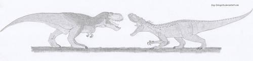 V rex vs I rex by Guy-Inkognito