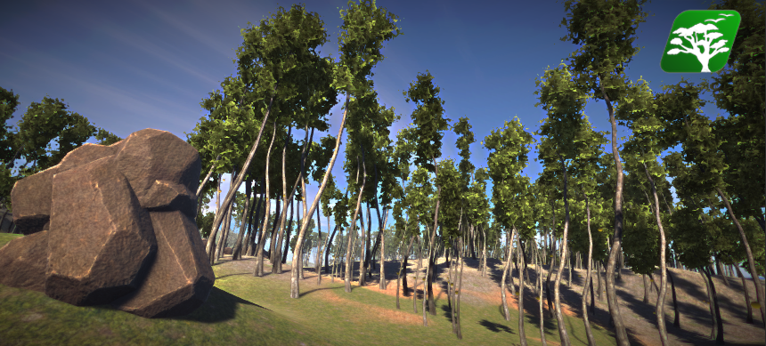 Realistic Tree7 by RakshiGames