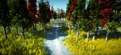 Realistic Tree 13 by RakshiGames