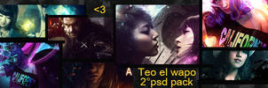 Teo el Wapo second psd Pack by MatteoAscente