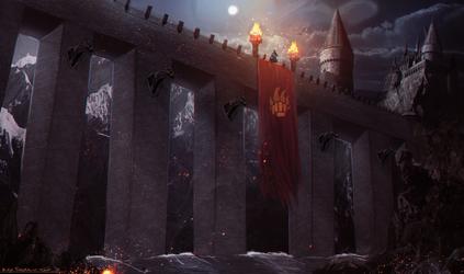 Medieval Bridge concept by MatteoAscente