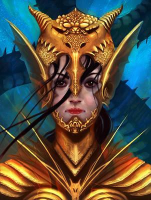 Lady-dragons-mythos by MatteoAscente