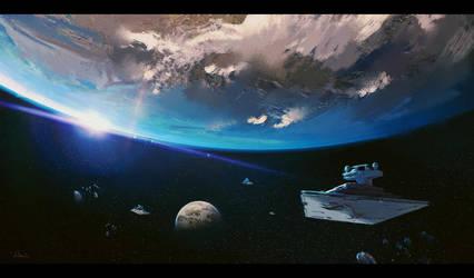 star destroyer by MatteoAscente