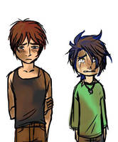 Owen + Luke 02 - kidlets 1 by rabbitzoro