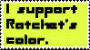 I Support Ratchet's Color by mari-chan