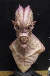 Resin cast alien 1 by BOULARIS