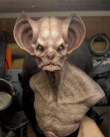 Finished bat creature bust. by BOULARIS