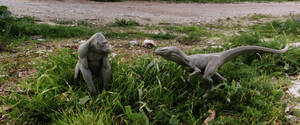 sculpts on location. by BOULARIS