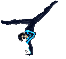 Nightwing by blckxwngxdragon