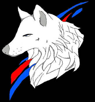 Wolf Art - Drawn duplication of someone elses art by AJGaming125