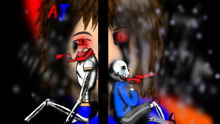 Till Death do us part undertale art fix by AJGaming125