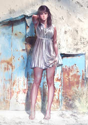 Difficult Girl by Jarman-Dog