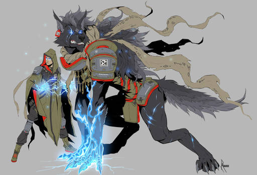 Lycans: Arcane by CrazyAsian1