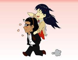 School Rumble - Onward, Harima by JadeRaven93