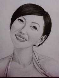 Charcoal Portrait by Ehaw09