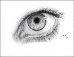 An Eye Study by JoannaMoory