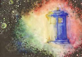 TARDIS by AneNJ