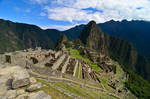 Machu Picchu - From the hill by LLukeBE