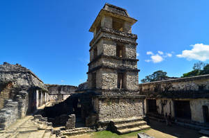 Palenque - Inside the Palace 1 by LLukeBE