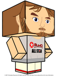 Mike Rutherford Cubee 3D by GrapefruitFace1