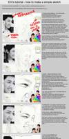 How to make a portrait sketch? by emenemsbis