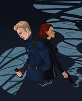Steve and Natasha by Ipse---Dixit