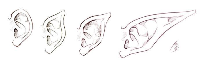 Self Practice - Ears by AzizlaSwiftwind
