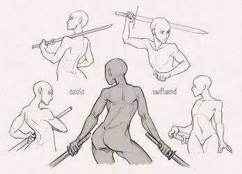 Self Practice -- SwordPerson by AzizlaSwiftwind