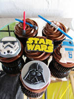 Come to the Dark side... we have cupcakes by I-am-Ginger-Pops