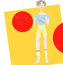 hey man, i tried to draw ren, sorry by RiledUp73