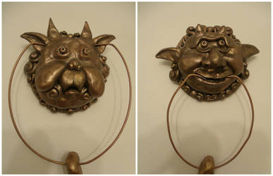 Labyrinth Inspired Door Knockers by kawaiibuddies