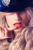 Sexy cop by JuliaNesterova