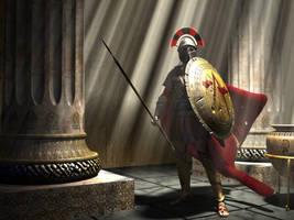 Warrior of Sparta by kosv01