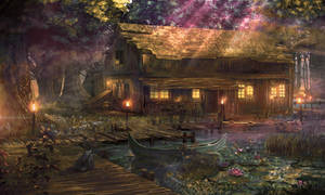 Enviroment concept for HOPA by BorisDigitalArtist
