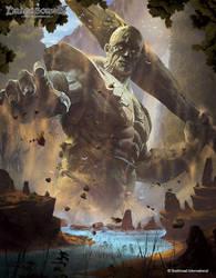 Colossus by BorisDigitalArtist