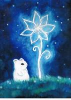 Moony and the flower by Avantalia