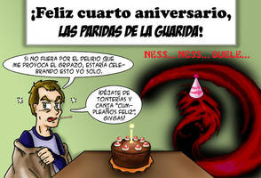 Gripazo, aniversario y Giygas by feadraug