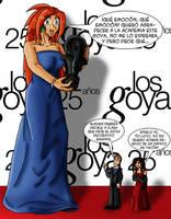 Clara en los Goya by feadraug
