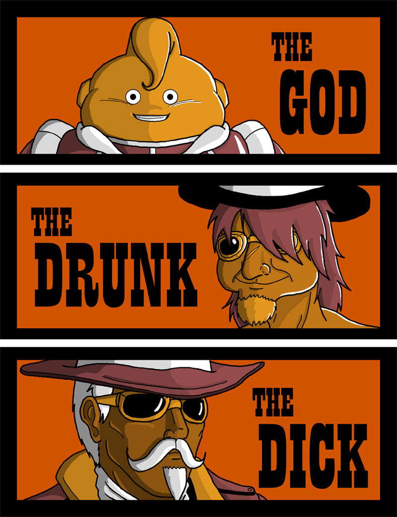 The God, the Drunk and the Dick by feadraug