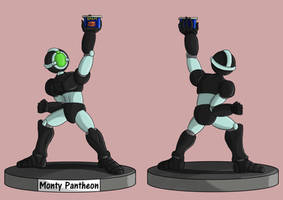 Monty Pantheon's Very Own Figure by feadraug