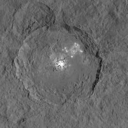 Ceres' Bright Spots Seen in Striking New Detail by Vikutta-Perex