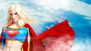 Supergirl wallpaper by EnjiNight