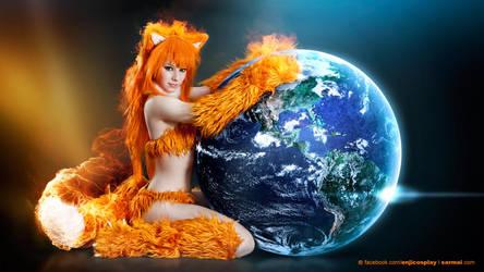 Firefox cosplay HD by EnjiNight