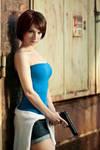 Jill Valentine cosplay III by EnjiNight