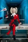 Harley Quinn cosplay II. by EnjiNight