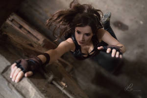 Lara Croft - Tomb Raider cosplay I. by EnjiNight