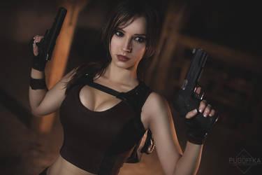 Lara Croft cosplay - Tomb Raider  VI. by EnjiNight